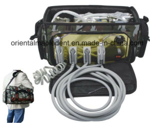 Portable Dental Unit with Built-in Air Compressor (OM-PD001) pictures & photos