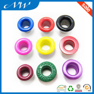 Fashion Multi-Color Spraying Oil Metal Eyelet pictures & photos