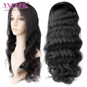 Glueless Brazilian Virgin Hair Full Lace Wig pictures & photos