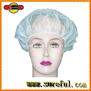 Colourful Disposable Non Woven Bouffant Nurse Cap pictures & photos