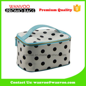 Tubbiness PU Cosmetic Bag with Polka DOT pictures & photos