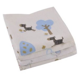 Eco-Friendly Baby Wipes Cotton Baby Washcloth Bambino Baby Towel pictures & photos