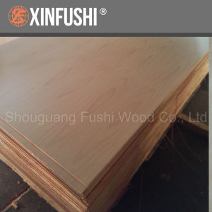 Natural Wood Veneer MDF Board for Furniture/Door Skin pictures & photos
