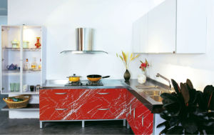 Fashionable Kitchen Furniture Cabinet (ZH9617) pictures & photos