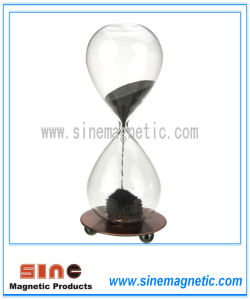 Magnetic Hourglass Sand Hourglass Clock Magnetic Gift pictures & photos