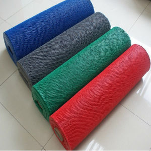 High Quality Waterproof PVC S Antislip Sauna Floor Mat pictures & photos