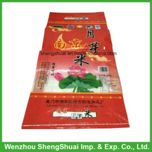 25kg PP Woven Bag for Rice with Transpent Material