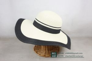 Floppy Paper Straw Hat (XH-PA2129) pictures & photos