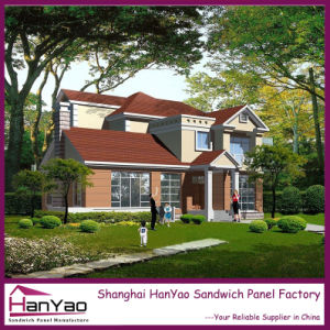 Prefabricated Steel Structure Customized Luxury Villa pictures & photos