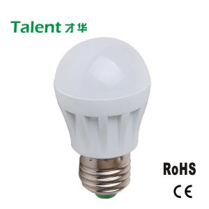 3W LED Bulb with Plastic House