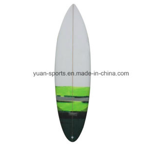 Imported PU Blank Made Short Surfboard Hard with Carbon Tail pictures & photos