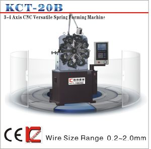 Kct-20b 0.2mm CNC Duck Clip Spring Forming Machine&Torsion/Tension Versatil 3 Axis CNC Spring Forming Machine pictures & photos