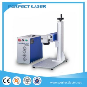 Stainless Steel Aluminum 10W 20W 30W Desk Model Fiber Laser Markers pictures & photos