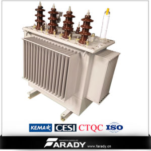 3 Phase High Voltage Electrical Wounded Core Transformer pictures & photos