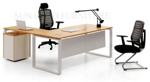 Wooden Office Furniture Used Computer Table Desk Designs (SZ-ODB316) pictures & photos