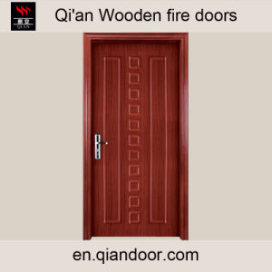 Teak Veneer Timber Fire Door pictures & photos