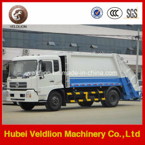 4X2 LHD Drive 12m3 Compress Garbage Truck pictures & photos