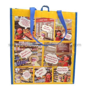 Custom Made Printed Recyclable RPET Eco Bag for Shopping pictures & photos