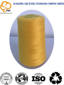 100% Polyester Spun Dyed Sewing Thread for High-Speed Machine pictures & photos