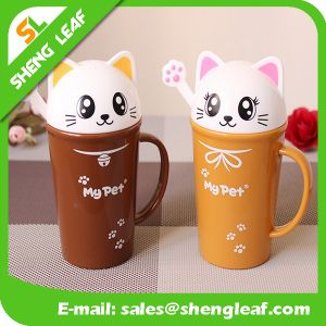 OEM Design Promotion Gifts Plastic Travel Mug (SLF-PM024) pictures & photos