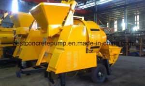 Portable Hydraulic Concrete Mixer with Drum pictures & photos
