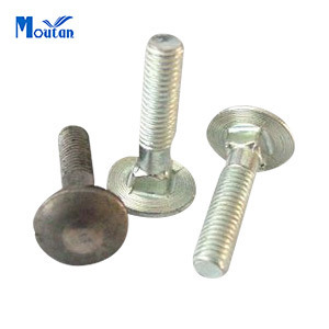 Zinc Plated Carbon Seel DIN603 Carriage Bolts