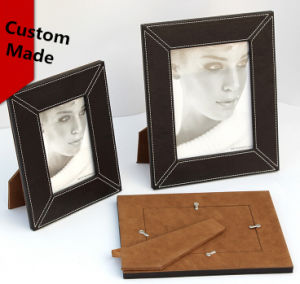 Threading Leather Photo Frames pictures & photos