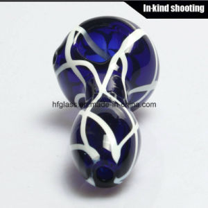 Colored Smoking for Hand Pipes Spoon Glass Pipe Spoon Tobacco Hookah pictures & photos