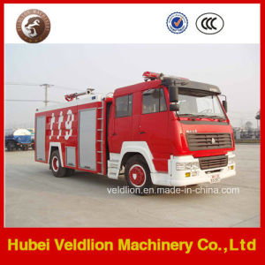 Steyr Fire Truck Wtih 6000L/6cbm/6m3 Water Tank and Fire Monitor pictures & photos