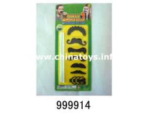 2016 New Cheap Promotional Mustache Gift Plastic Toy (999914) pictures & photos