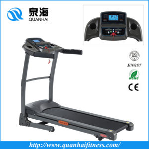 Home Electric Treadmill Folding Fitness Machine Motorized Indoor Treadmill (QH-9819) pictures & photos