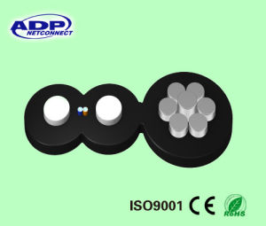 ADP Hot Sale Hight Quality Fiber Optic FTTH Cable pictures & photos