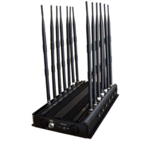 All in One RF Wireless Signal Jammer 315/433MHz 2g/3G/4G GSM/CDMA Cellphone Jammer GPS WiFi VHF UHF Lojack Signal Jammer pictures & photos