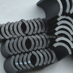 Arc Shaped Sintered Ferrite Magnets Used for Motor pictures & photos