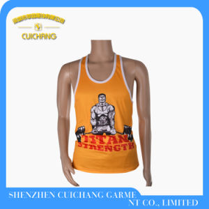 Hot Sale Top Tank for Men Gym Singlets pictures & photos
