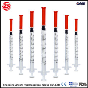 Medical Supply U40 Disposable Insulin Syringe pictures & photos