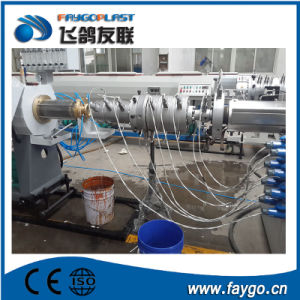 16-63mm PVC Corrugated Pipe Machine pictures & photos