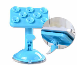 Universal Silicone Mobile Phone Stands Bracket 360 Degree Rotatable pictures & photos