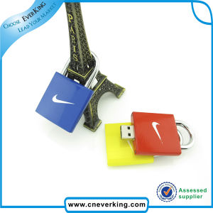 Lock Shape Custom USB Drive pictures & photos