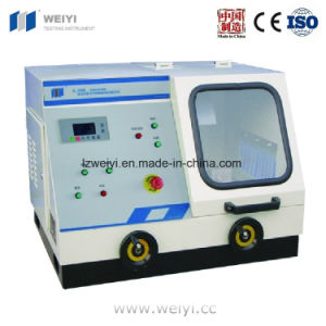 Specimen Cutting Machine (Q-100B) for Metallographic Sample pictures & photos