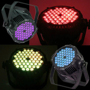 Outdoor Waterproof RGB 3in1 54 3W LED PAR Light pictures & photos