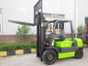 2.5 Ton Diesel Power Machinery Forklift Container Forklift pictures & photos