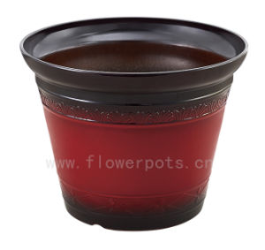 Baking Vonish Decoration Flower Pot (KD8301-KD8303) pictures & photos