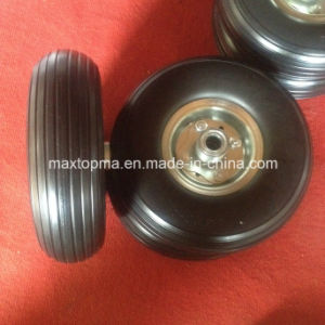 Maxtop Line Pattern Flate Free PU Foam Wheel pictures & photos