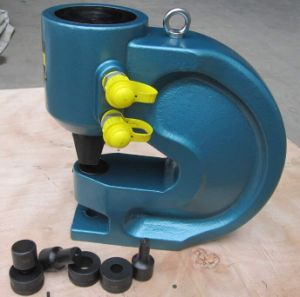 Iron Hole Punching Machine CH-80 Allocate Pump pictures & photos