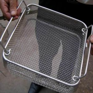 Stainless Steel Sterilization Medical Basket Filter pictures & photos