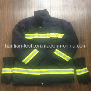 Overall Fire Suit for Fire Fighting as Protctive Suit pictures & photos