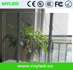 Outdoor Glass Wall P10mm Transparent LED Display pictures & photos