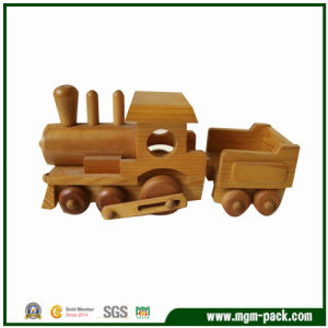Wholesale Brown New Educational Children Wooden Train pictures & photos