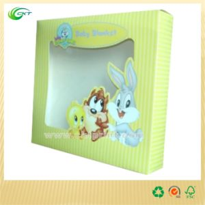 Paper Card Stock Display Box with Clear Window (CKT-CB-128) pictures & photos